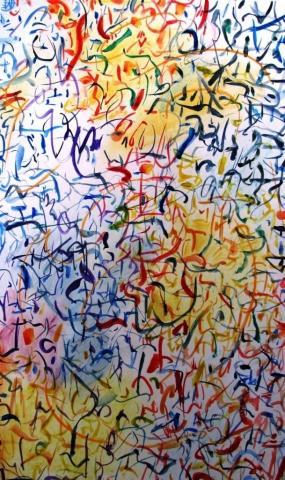 Painting Lines Art Colour Pattern