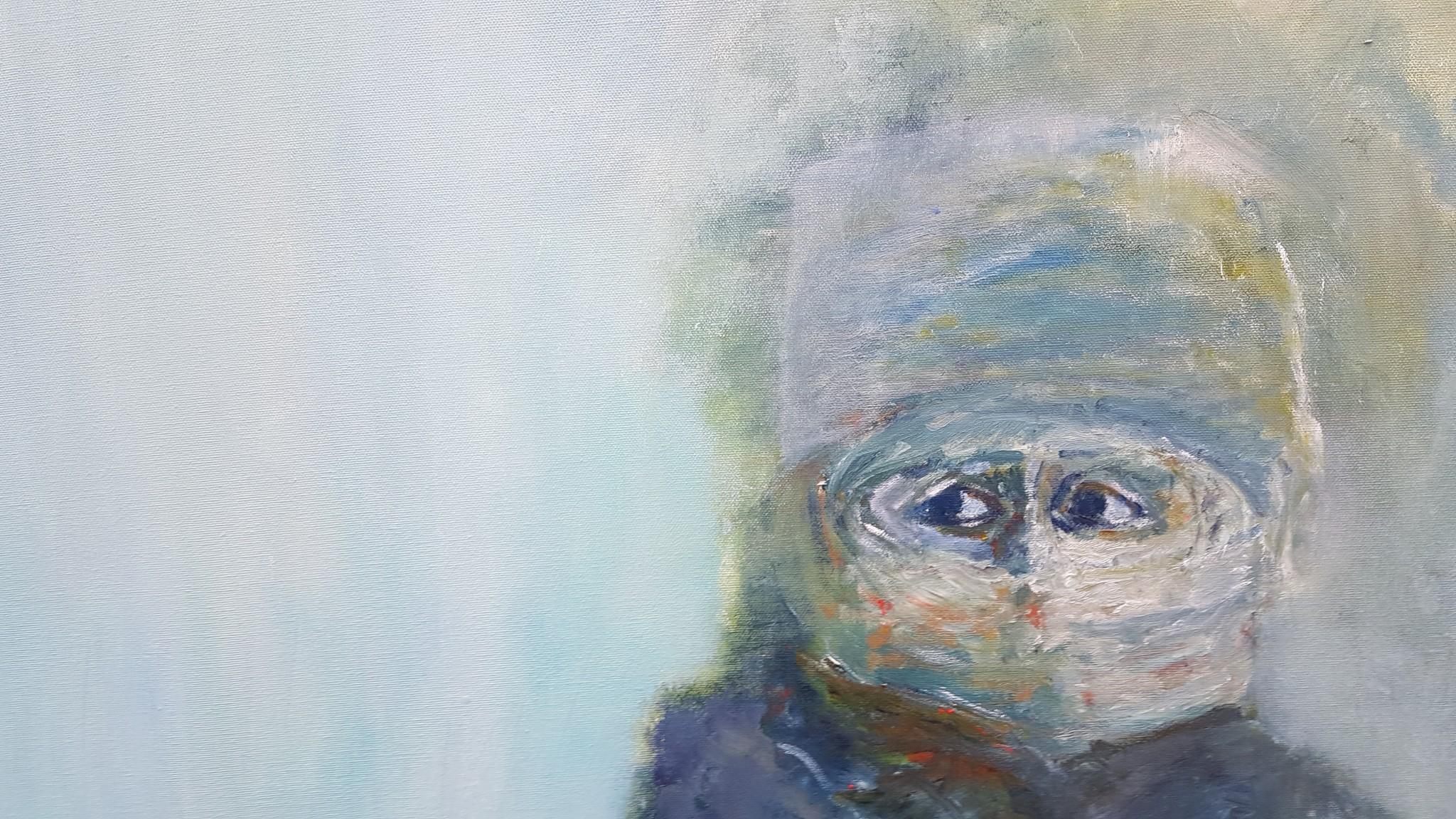 Portrait Paint Artwork Person