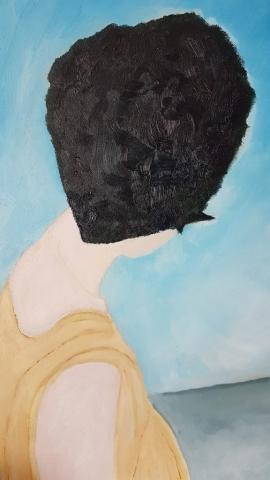 Person Portrait Painting Artwork