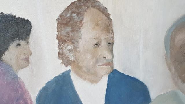 People Portrait Artwork Painting