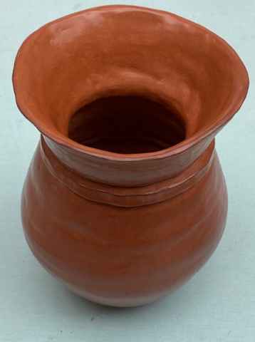 Pottery Vase Ceramic Clay Artwork Sculpture