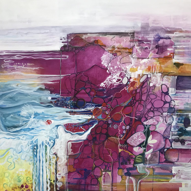 Painting Artwork Landscape Colour Pattern
