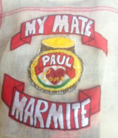 Stitching Artwork Embroidery Stitch Marmite
