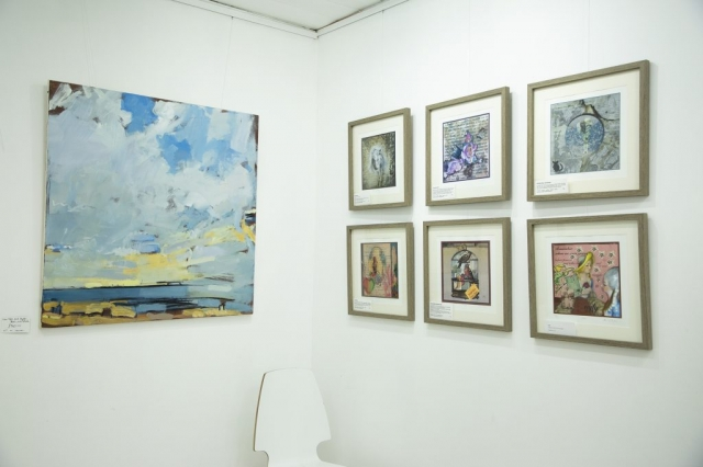 Fishslab Gallery Whitstable Exhibition Bruce Williams Annie Taylor